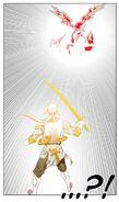 Han Gun-Jae's slash splitting Zero, God of Combat and God of Time and Space in half (Episode 174)