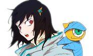 Sora (Timeskip outfit) and Ego (AE 7)