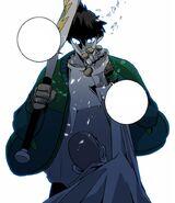 Thunder uses Catch to neutralise Park Jin-Il's uppercut (Sindorim 4)