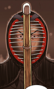 Lee Ji-Hoon (The Best Swordsman) in his Kendo attire (Season 2 Episode 105)
