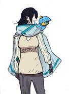 Sora (Timeskip outfit) and Ego (AE 2)