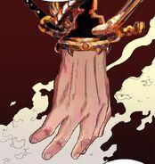 God's Hand undamaged from a blast from Zero's arrow (Episode 90)
