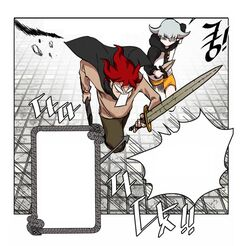 Hardcore Leveling Warrior draws the Cracked Long Sword from the Random Sword (Episode 7).jpg