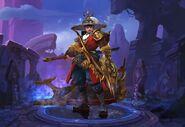 National Hero Yi Sun-Shin skin in Moblile Legends Bang Bang
