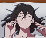 Ko So-Ra's (Sora) preparing to log-in to Lucid Adventure (Season 2 Episode 92)