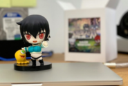 Sora SD figure given to Kim Sehoon by Superplanet and Hardcore Leveling Warrior with Naver Webtoon