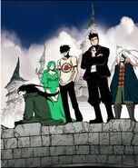 Akira, Lime, Yopi, Taek and Pooh Upooh Yopi Land (Guild) (Season 2 Episode 85)