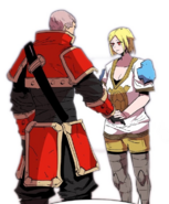 Armes telling The Best Swordsman to look after the guild if she's gone (AE 2)