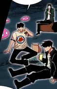 Yopy, Akira and Taek enjoying some beverages together (Season 2 Episode 85)