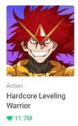 10.04.21 Hardcore Leveling Warrior LINE Webtoon mobile icon