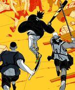 Thunder with his crew (Sindorim Season 2 Prologue)