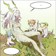 Dragon of Light with her 'children' (Episode 174)