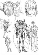 Concept Art of a Lucid Adventure character from Sehun Kim's Blog 2013 or 2014