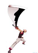 Cocomori and her ego sword (Season 2 Episode 97)