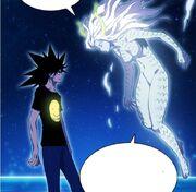Stone meeting the Dragon of Light (Season 2 Episode 77).jpg