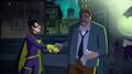 Batgirl and Gordon start working together