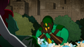 Kite Man after Ivy died