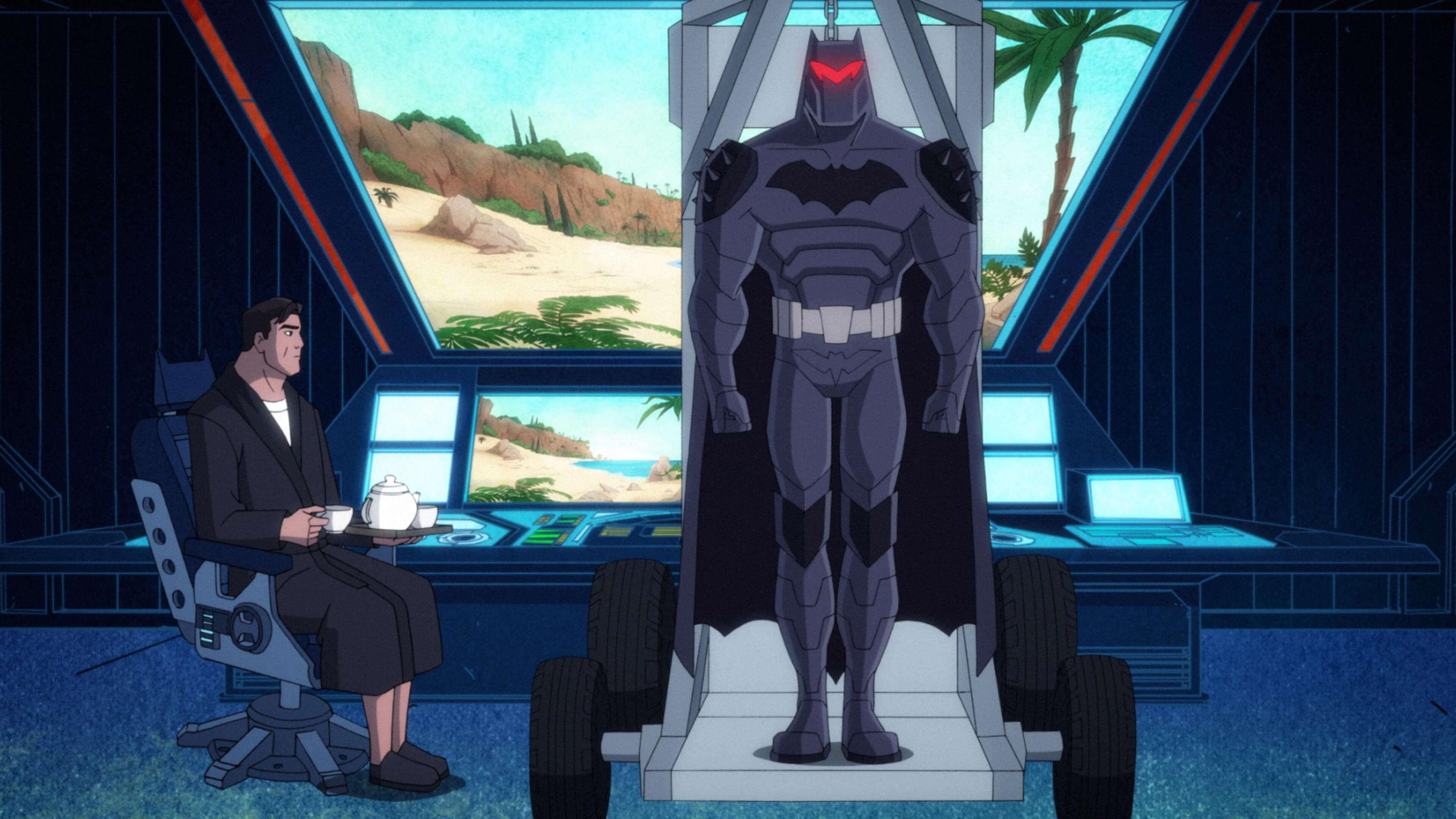 Batman's Back Man