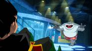 King Shark vs Robin