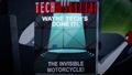 Wayne Tech invisible motorcycle