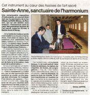 Ouest-France 20 mai 2004