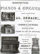 Pianos & Orgues Debain