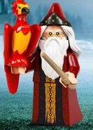 Dumbledore and Fawkes LEGO 2020