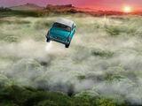 会飞的福特安格里亚车
