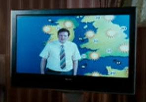 Meteorologista de TV não identificado