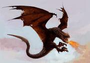 Dragon WB F4 HungarianHorntail Illust 100615 Land.jpg