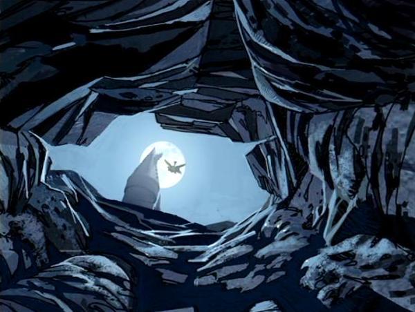 Escape Tunnel (Concept Artwork for the HP2 movie 03).JPG