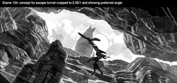 Escape Tunnel (Concept Artwork for the HP2 movie 02).JPG