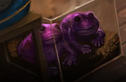 Valtava violetti rupikonna
