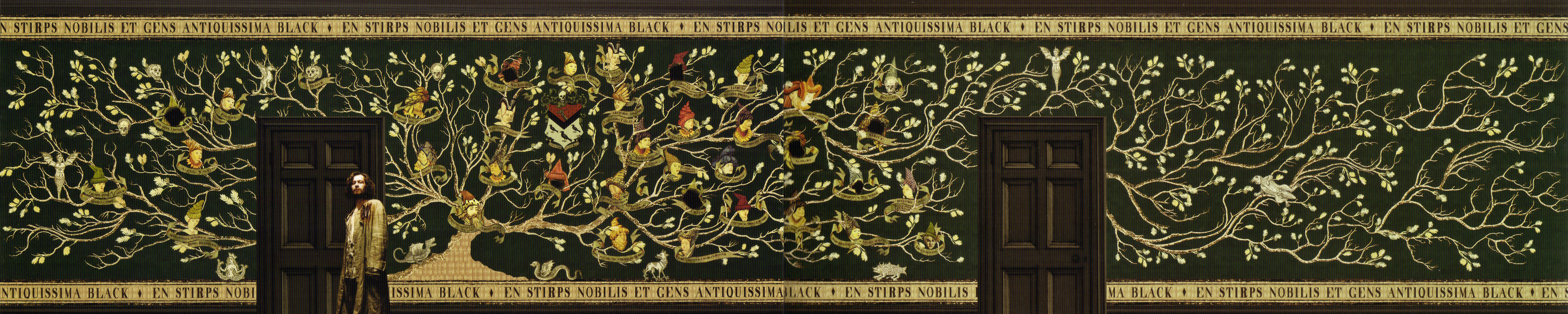 Black Family Tapestry