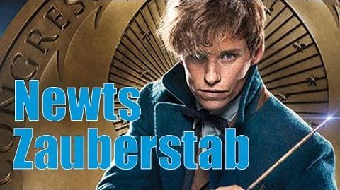 Newt Scamanders Zauberstab Unboxing und Review