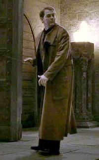 Auror en fonction dans Harry Potter et le Prince de Sag-Mêlé (film).