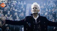 Fantastic Beasts Crimes of Grindelwald Grindelwald Speech Scene 4k