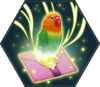 Lovebird to Love Note HM spell icon