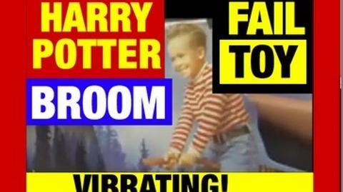 """DeMoto """"Genitaliusz"""" Qrchak/Śmieszna zabawka z Harrym Potterem - WIBRUJĄCA MIOTŁA XD."""