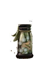 Jagody z jemioły