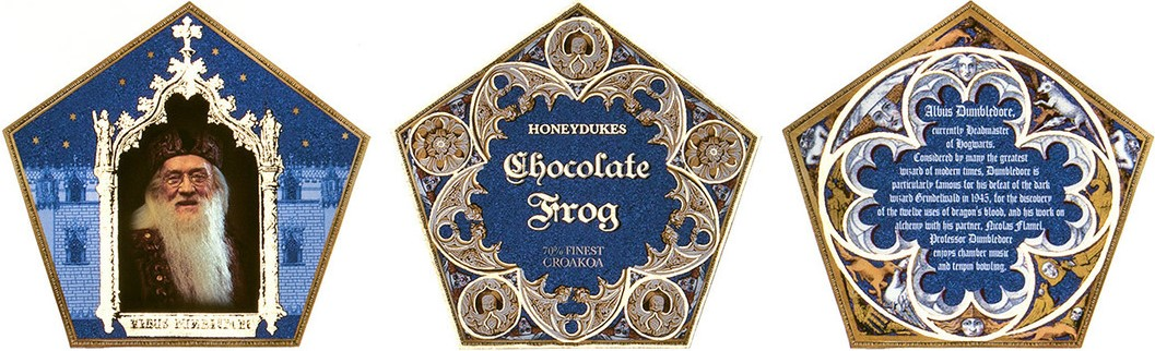 Chocolate Frog Card