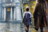 Harry Potter Diagon Alley Pop-up background