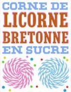 Corne de licorne bretonne en sucre