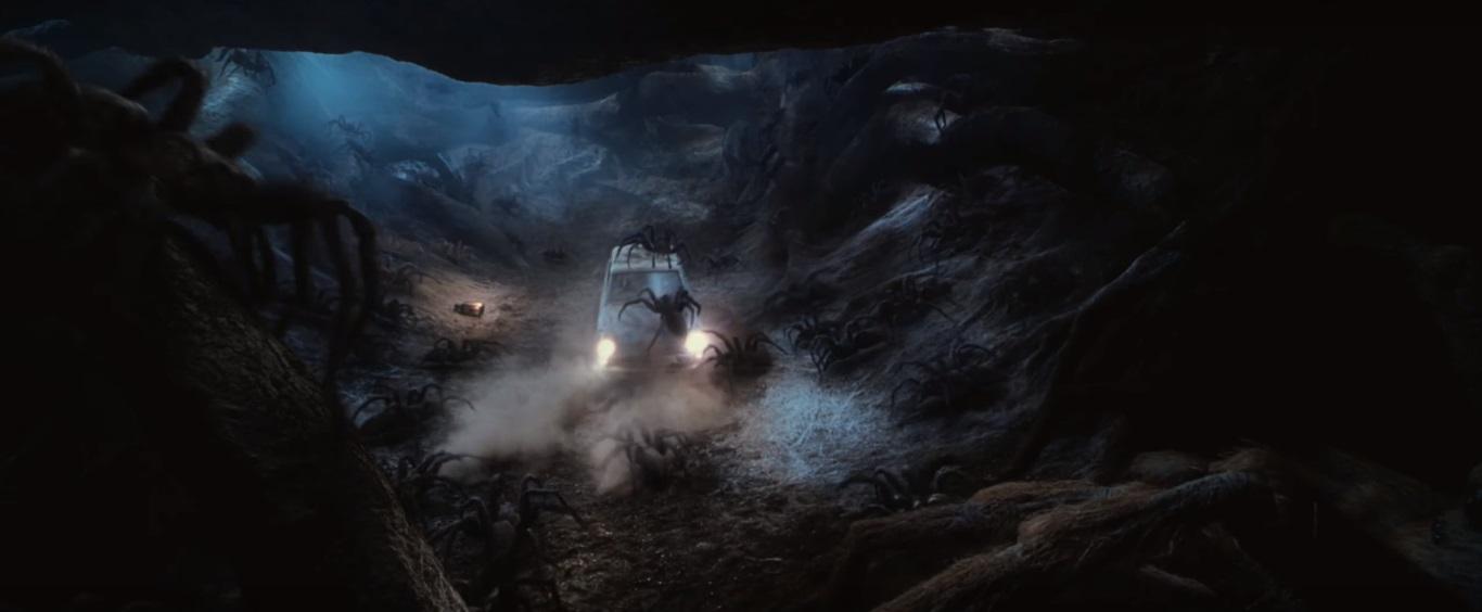 Skirmish in Aragog's Lair