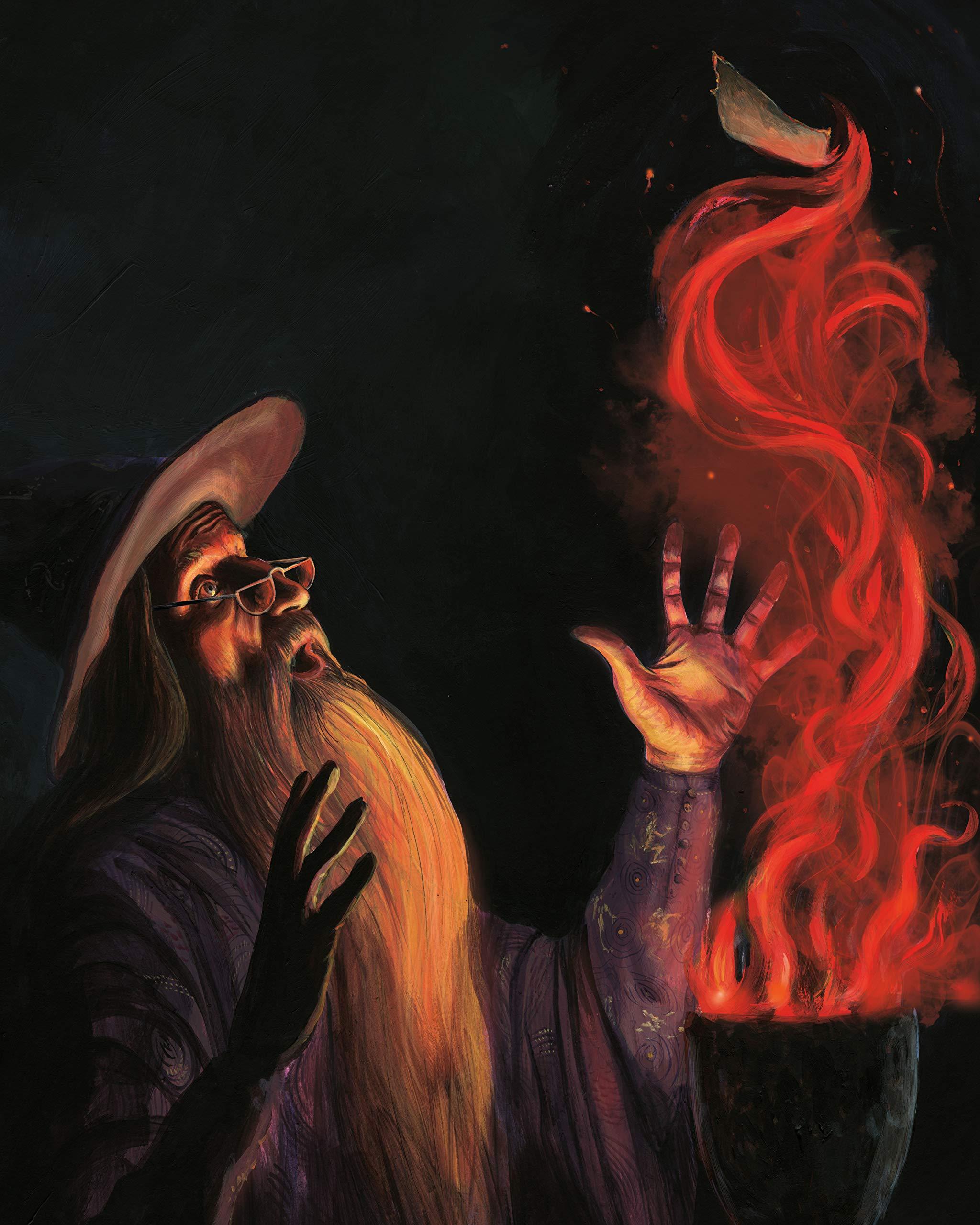 JimKay-Illustration B4C16 DumbledoreGoblet.jpg