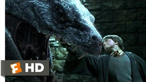 Harry Potter and the Chamber of Secrets (5 5) Movie CLIP - Basilisk Slayer (2002) HD