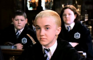Millicent, Draco, Crabbe o. Goyle