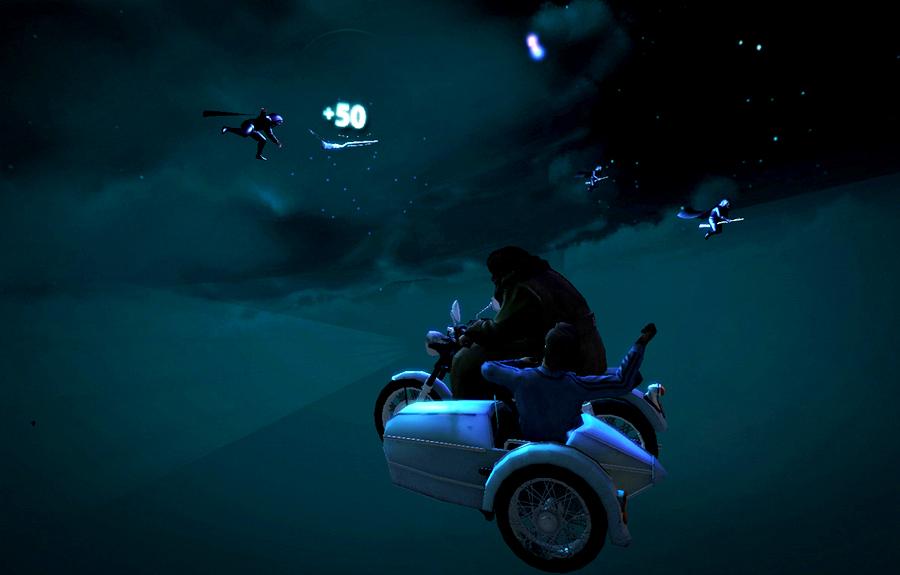 哈利·波特与死亡圣器:摩托车逃亡