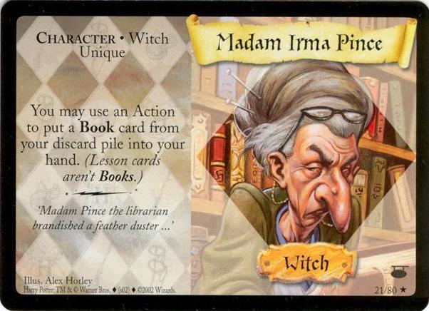 Madam Irma Pince (karta)