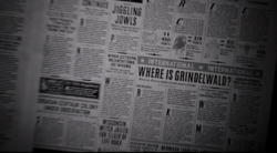 The New York Ghost - unknown edition - Where is Grindelwald - FB-F.png